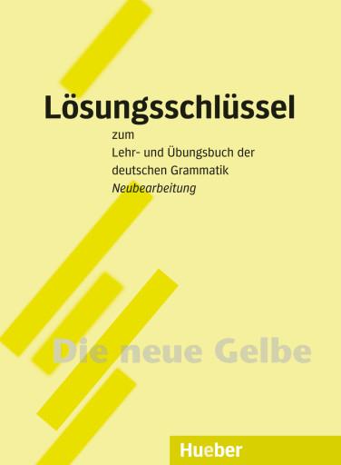 Lehr- und Übungsbuch der deutschen Grammatik Lösungsschlüssel