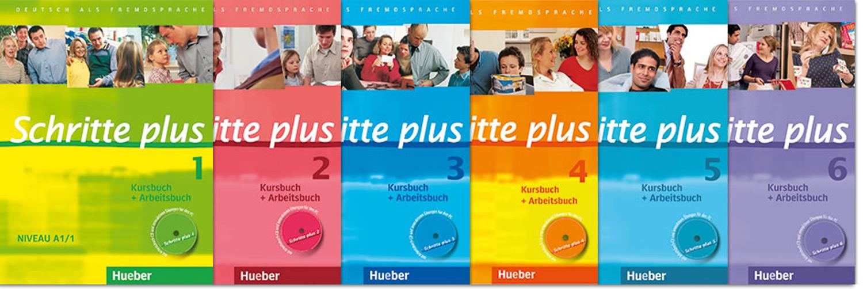 Hueber SCHRITTE INTERNATIONAL 5 Kursbuch + Arbeitsbuch Niveau B1/1 mit CD @NEW@